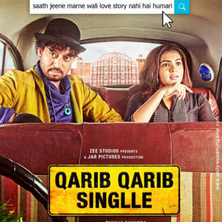 First Look Of The Movie Qarib Qarib Singlle