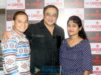 Sachin Khedekar charms his fans at SM5 Carnival Cinemas in Kalyan