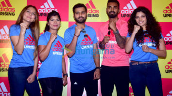 Saiyami Kher snapped at the Adidas event