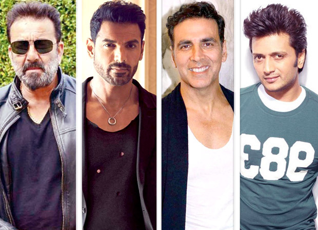 Sanjay Dutt, John Abraham join the cast of Housefull 4 along with Akshay Kumar and Riteish Deshmukh?