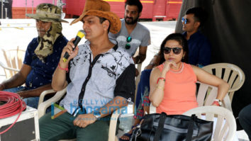 On The Sets Of The Movie Tera Intezaar