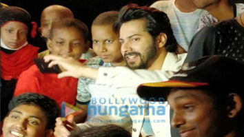 Varun Dhawan holds a special screening for cancer-stricken kids-1