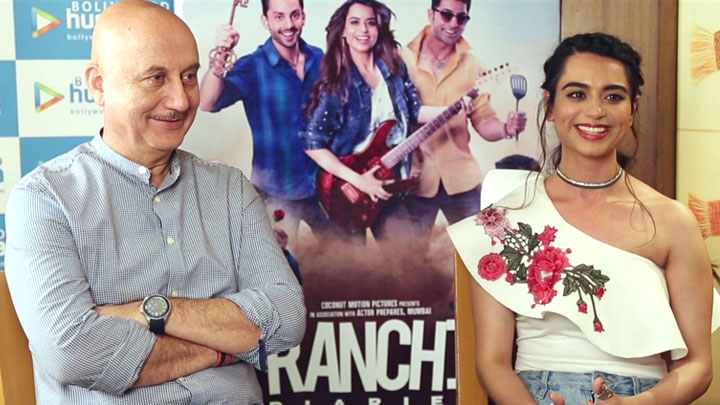 Anupam Kher REVEALS How He Became The Producer Of Ranchi Diaries | Soundarya Sharma