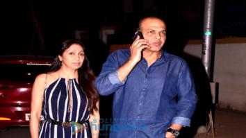 Ashutosh Gowariker snapped with his wife Sunita
