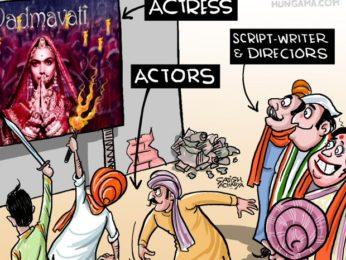 Bollywood Toons Deepika Padukone is just an actress