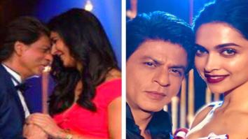 Check out Shah Rukh Khan has a hard day at work with Katrina Kaif and Deepika Padukone