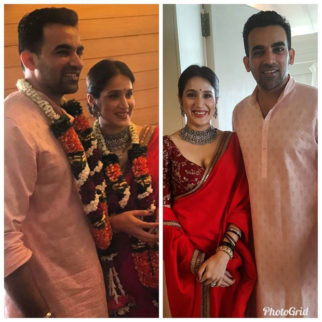 FIRST PHOTOS  Sagarika Ghatge and Zaheer Khan get hitched!