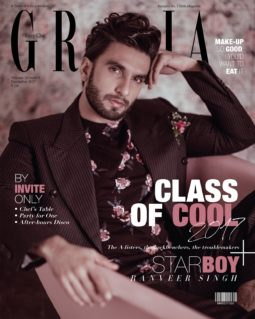 Ranveer Singh On The Cover Of Grazia