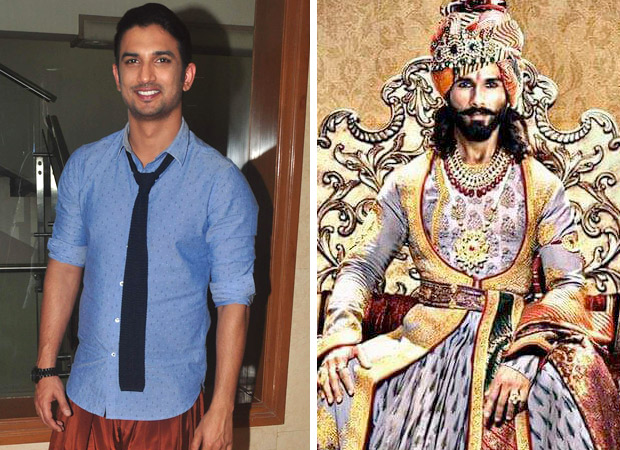 Here's what Sushant Singh Rajput has to say on the ongoing Padmavati controversy