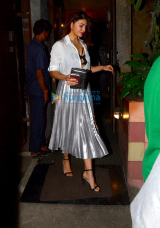 Jacqueline Fernandez spotted at Pali Bhavan after-