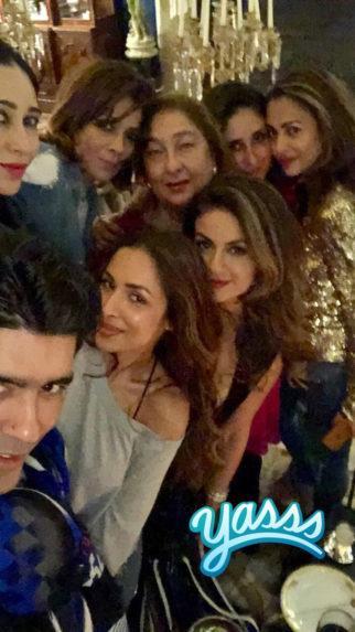 Kareena Kapoor Khan, Karisma Kapoor, the Arora sisters and others party hard-1
