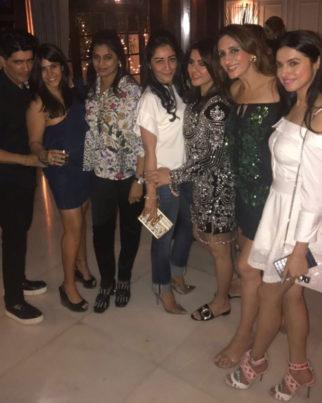 Maanyata Dutt, Ekta Kapoor groove at this birthday bash with their girl gang-1
