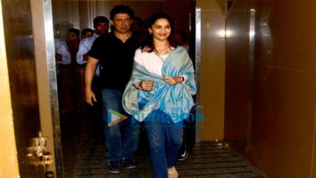 Madhuri Dixit, Varun Dhawan and other snapped at Juhu PVR