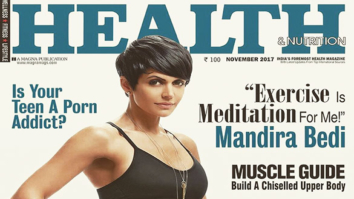 Mandira Bedi On The Cover Of Health & Nutrition
