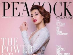 Jacqueline Fernandez On The Cover Of Peacock, Nov 2017