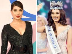 Priyanka Chopra congratulates Manushi Chhillar