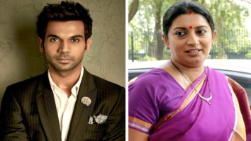 Rajkummar Rao takes a dig at Smriti Irani; minister says the government is 'tolerant'11