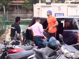 Ranbir Kapoor, Sidharth Malhotra and others snapped at Football practice session