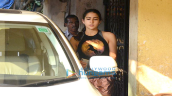 Sara Ali Khan spotted after her gym session in Khar