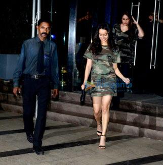 Shraddha Kapoor and Aditya Roy Kapur snapped at BKC
