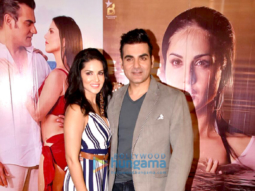 Sunny Leone and Arbaaz Khan promote their film 'Tera Intezaar'