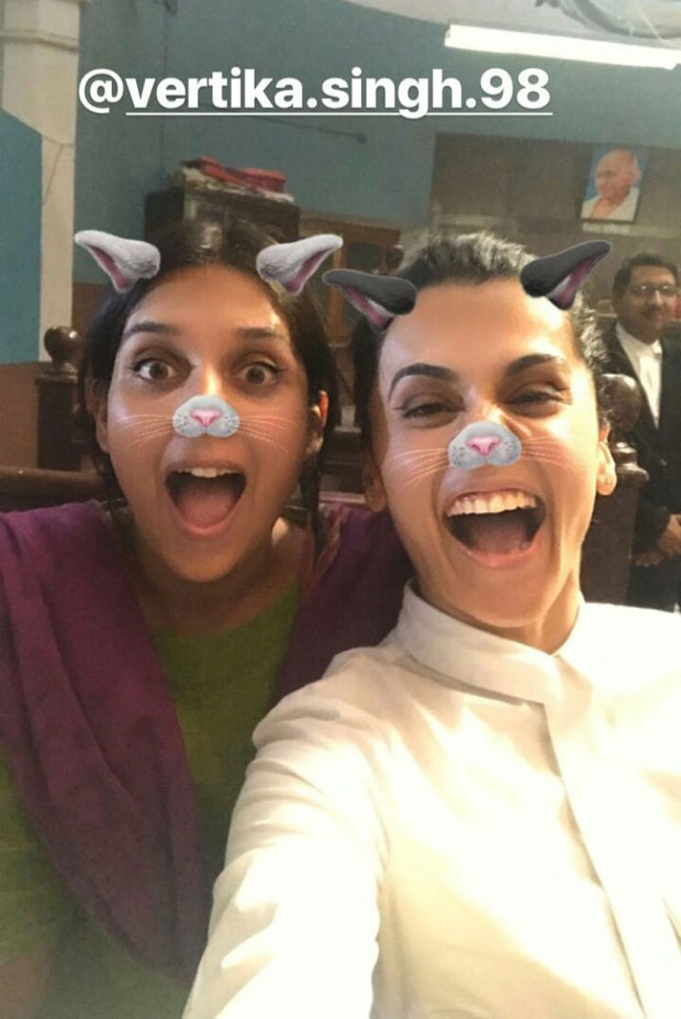 Taapsee Pannu starrer Mulk wrapped up in a funny way and here are the pictures-5