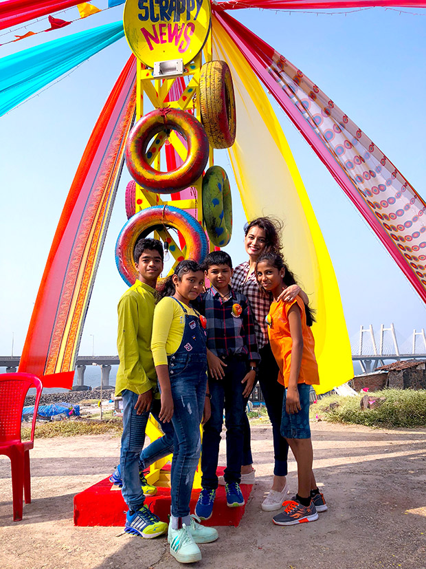 Wow Dia Mirza Celebrates Children S Day With Kids From