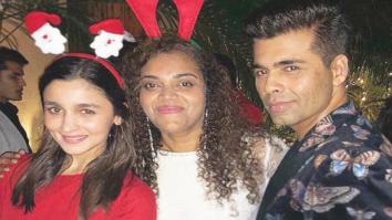 Alia Bhatt, Sidharth Malhotra, Varun Dhawan and Karan Johar kickstart party season with early Christmas party!
