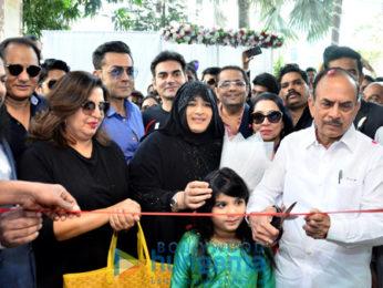 Arbaaz Khan, Sohail Khan, and Farah Khan grace the launch of the Heera Group of companies