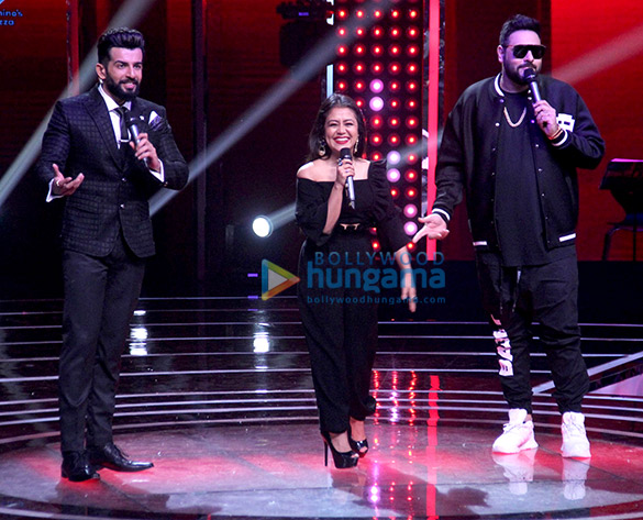 Badshah on the sets of 'The Voice India Kids Season 2'