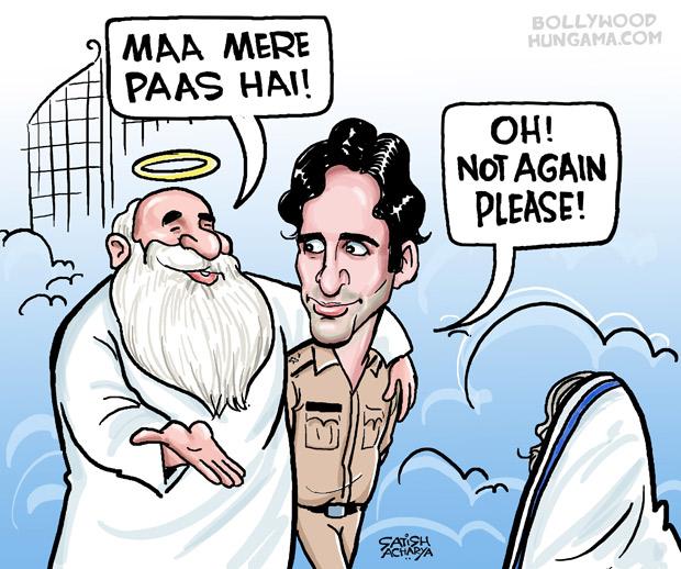 Bollywood Toons Shraddhanjali Shashi Kapoor!