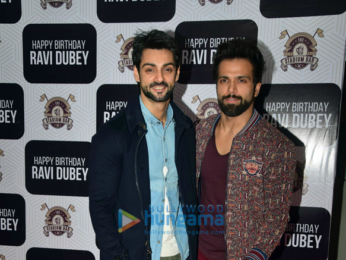 Celebs snapped at Ravi Dubey's birthday
