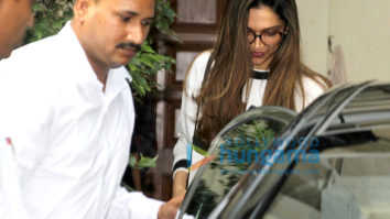 Deepika Padukone snapped post salon session