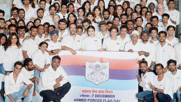 Defence Minister thanks Anushka Sharma for her support for Armed Forces Flag Day