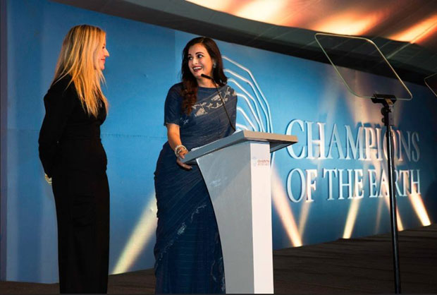 Dia Mirza hosts the Earth Champs Awards at the UN Environment Assembly in Nairobi -3