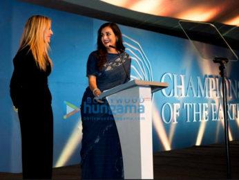 Dia Mirza hosts the Earth Champs Awards at the UN Environment Assembly in Nairobi, Kenya