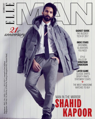 Shahid Kapoor On The Cover Of Elle