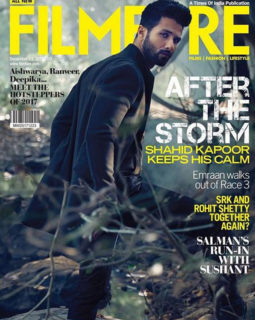 Shahid Kapoor On The Cover Of Filmfare, Dec 2017