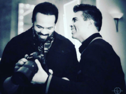 Karan Johar spotted in a candid, happy moment with Rohit Shetty