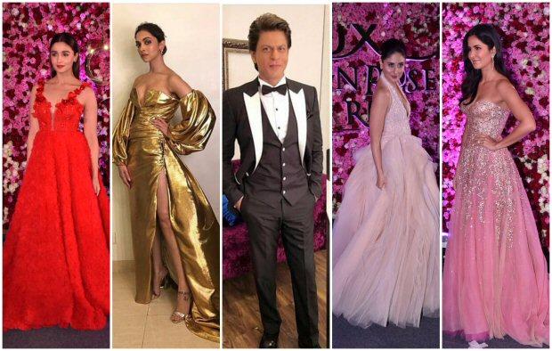 PHOTOS SRK, Deepika, Kareena, Katrina and others slay at Lux Golden Rose Awards 2017