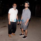 Rakeysh Omprakash Mehra and Shahid Kapoor snapped in Bandra