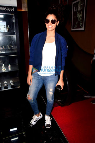 Saiyami Kher snapped in Mumbai