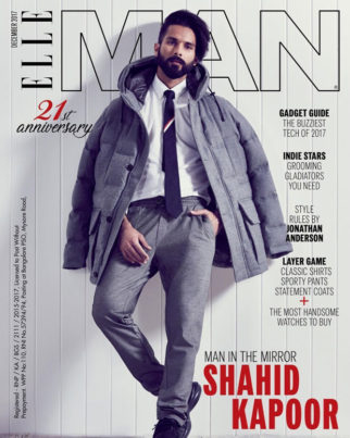 Shahid Kapoor is broody and sharp with a bearded look on Elle Man cover!