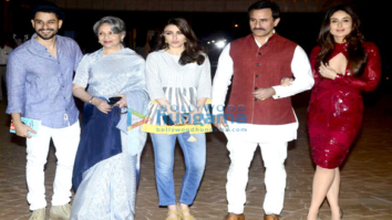 Kareena Kapoor Khan, Saif Ali Khan, Sharmila Tagore and Kunal Khemu at Soha Ali Khan's book launch at Taj Lands end
