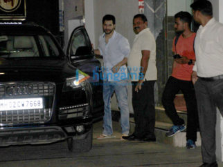 Varun Dhawan snapped in Bandra