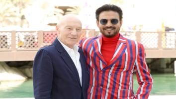 When Irrfan Khan meet the legendary Patrick Stewart