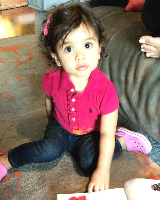 ADORABLE! Shahid Kapoor's daughter Misha Kapoor plays hide and seek with mommy Mira Rajput