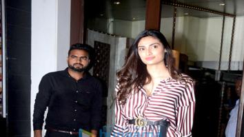 Athiya Shetty, Huma Qureshi, Krishna Shroff spotted at Bastian in Bandra