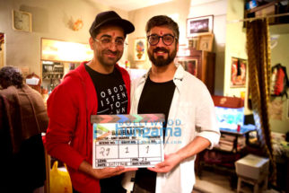 On The Sets Of The Movie Badhaai Ho