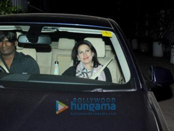 Bollywood stars attend Farah Khan's birthday bash